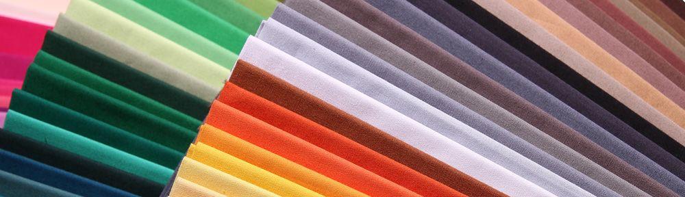 Farbtücher für die Farbberatung nach dem 24-Typen Prinzip.