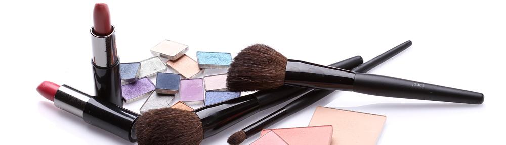 Make up Farben und Werkzeuge
